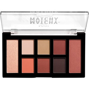 NYX Professional Makeup - Lidschatten - Matchy-Matchy Shadow Palette Camel