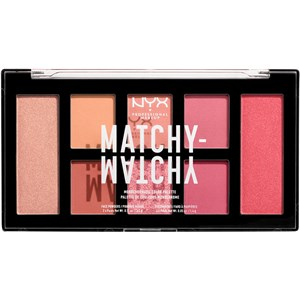 NYX Professional Makeup - Eye Shadow - Matchy-Matchy Shadow Palette Melon