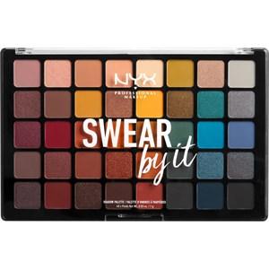 NYX Professional Makeup - Eye Shadow - Swear By It Shadow Palette
