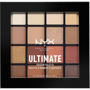 NYX Professional Makeup - Lidschatten - Warm Neutrals Ultimate Shadow Palette