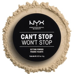NYX Professional Makeup - Puder - Can't Stop Won't Stop Setting Powder