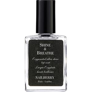 Nailberry - Nagellack - Shine & Breathe Oxygenated After Shine Top Coat