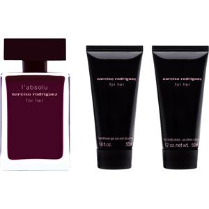 Narciso Rodriguez - for her - l'absolu Geschenkset