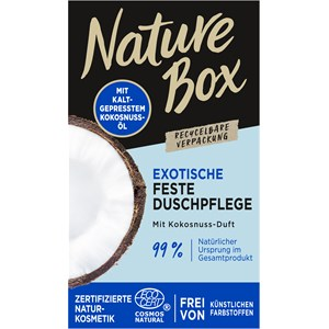 Nature Box - Shower care - Shower bar with coconut scent