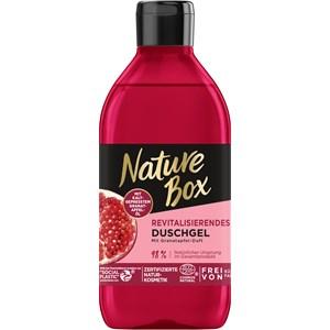 Nature Box - Duschpflege - Revitalisierendes Duschgel mit Granatapfelduft