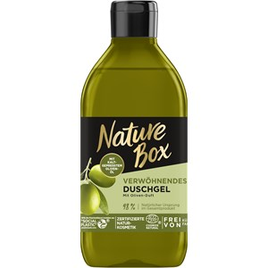 Nature Box - Shower care - Pampering shower gel with olive scent