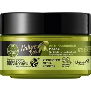 Nature Box - Hair treatment - Anti-hair breakage mask