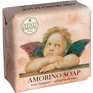 Nesti Dante Firenze - Amorino - Rose Bouquet Soap