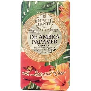Nesti Dante Firenze - N°9 De Ambra Papaver - De Ambra Papaver Soap