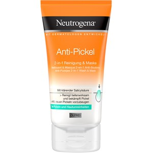 Neutrogena - Puhdistus - 2 in 1 -puhdistus ja naamio näppyjä vastaan