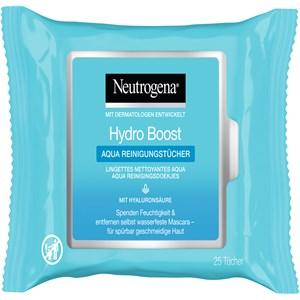 Neutrogena - Puhdistus - Hydro Boost Aqua -puhdistuspyyhkeet