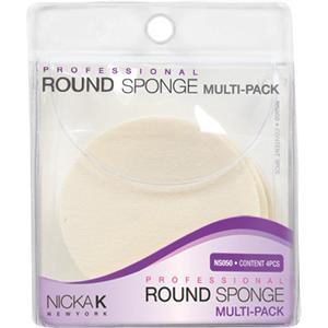 Image of Nicka K Make-up Accessoires Round Sponge Multi-Pack 4 Stk.