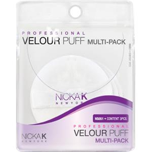Nicka K - Accessoires - Velour Puff Multi-Pack