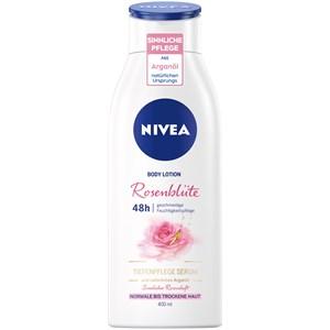 Nivea - Body Lotion and Milk - Loción corporal pétalos de rosa 3 en 1