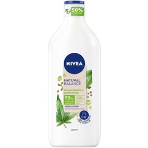 Nivea - Body Lotion and Milk - Aceite de semilla de cáñamo orgánico y crema suave Loción corporal de cáñamo Natural Balance