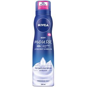Nivea - Loção e leite corporal - Body Mousse cuidado rico