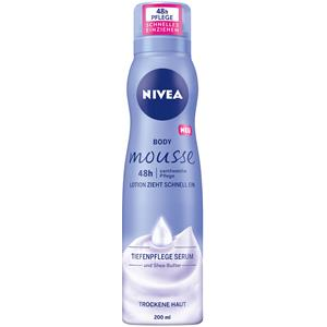 Nivea - Body Lotion und Milk - Body Mousse Samtweiche Pflege