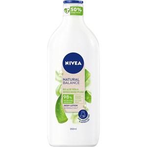 Nivea - Body Lotion und Milk - Virkistävä hoito Natural Balance Body Lotion Aloe Vera