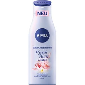 Nivea - Body Lotion und Body Milk - Sensual Cherry Blossom & Jojoba Oil Nourishing Lotion