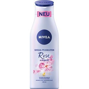 Nivea - Body Lotion und Milk - Sensual Pflegelotion Rose & Arganöl