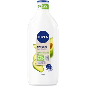 Nivea - Body Lotion and Milk - Crema para mimos Loción corporal aguacate Natural Balance