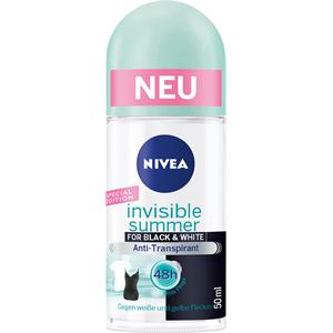 Nivea - Deodorant - Invisible Summer For Black & White Antiperspirant Roll-on