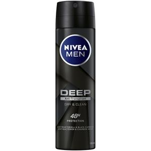 Nivea - Deodorant - Nivea Men Deep Anti-Transpirant Spray Dry & Clean