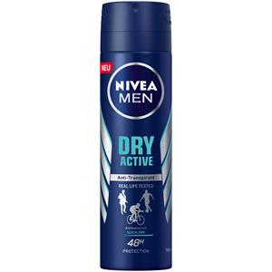 Image of Nivea Männerpflege Deodorant Nivea Men Dry Active Deodorant Spray 150 ml