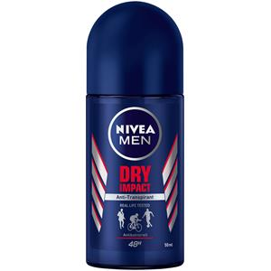 Nivea - Deodorant - Nivea Men Roll-on anti-transpirant Dry Impact