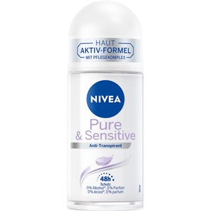 Nivea - Deodorantti - Sensitive & Pure Anti-Transpirant Roll-On