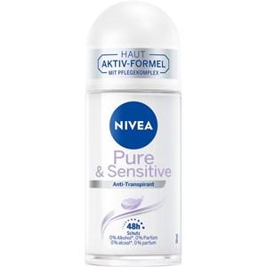 Nivea - Deodorant - Sensitive & Pure Antiperspirant Roll-on