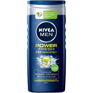 Nivea - Kropspleje - Nivea Men Power Fresh shower gel