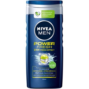 Nivea - Soin du corps - Nivea Men Douche de Soin Power Fresh