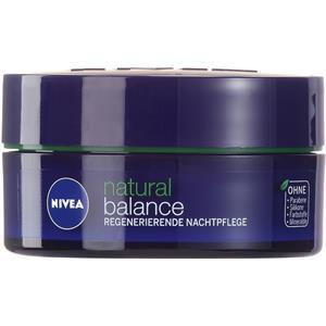 Image of Nivea Gesichtspflege Nachtpflege Natural Balance Regenerierende Nachtpflege 50 ml