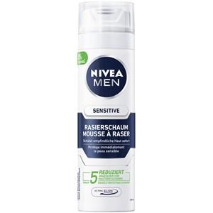 Nivea - Soin après rasage - Nivea Men Mousse à raser Sensitive