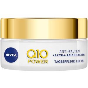 Nivea - Day Care - antiarrugas + extrarrica Crema de día LSF 15 Q10 Power