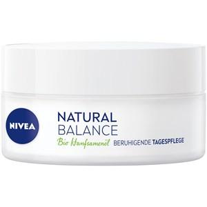 Nivea - Day Care - Aceite de semillas de cáñamo orgánico Crema de día calmante Natural Balance