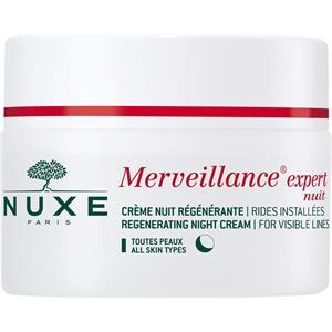 Image of Nuxe Gesichtspflege Merveillance Expert für alle Hauttypen Regenerating Night Cream 50 ml