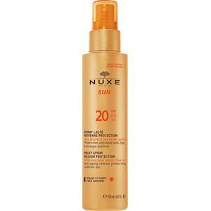 Nuxe - Sonnenpflege und Selbstbräuner - sun Milky Spray Medium Protection - Face and Body SPF 20