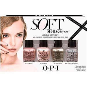 OPI - Soft Shades Collection 2015 - Mini Nail Lacquers