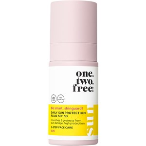 One.two.free! - Gesichtspflege - Daily Sun Protection Fluid SPF 50