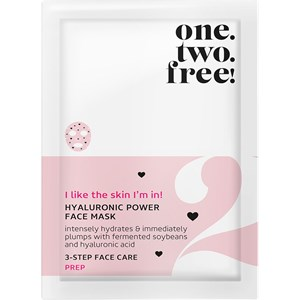 One.two.free! - Gesichtspflege - Hyaluronic Power Face Mask
