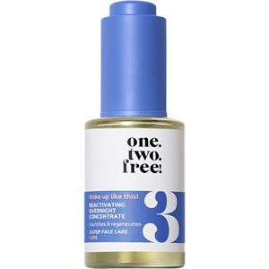 One.two.free! - Facial care - Reactivating Overnight Concentrate