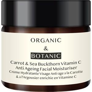 Organic & Botanic - Feuchtigkeitspflege - Carrot+Sea Buckthorne Moisturiser