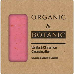 Organic & Botanic - Body care - Vanilla+Cinnamon Cleansing Bar