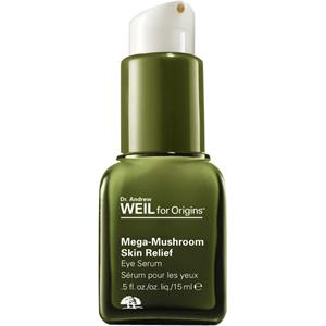 Image of Origins Gesichtspflege Augenpflege Dr. Andrew Weil for Origins Mega-Mushroom Skin Relief Eye Serum 15 ml