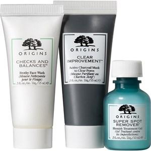 Origins - Cleansing & Peeling - Cleansing, Detoxifying & Spot-Fighting Trio Detox Set