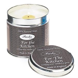 Parks - Scented Candles in Tins - For the Kitchen
