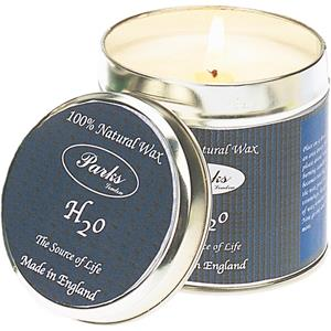 Parks - Scented Candles in Tins - H2o