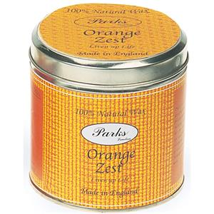 Parks - Scented Candles in Tins - Orange Zest